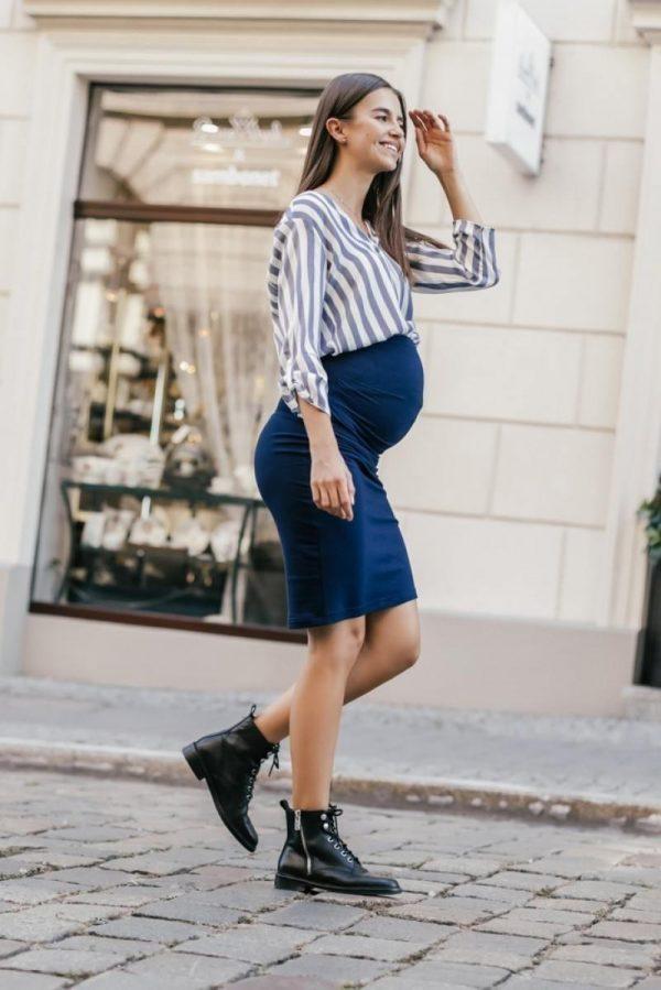 Elegancka spódnica ciążowa MI° Bump skirt z elastycznego materiału 3