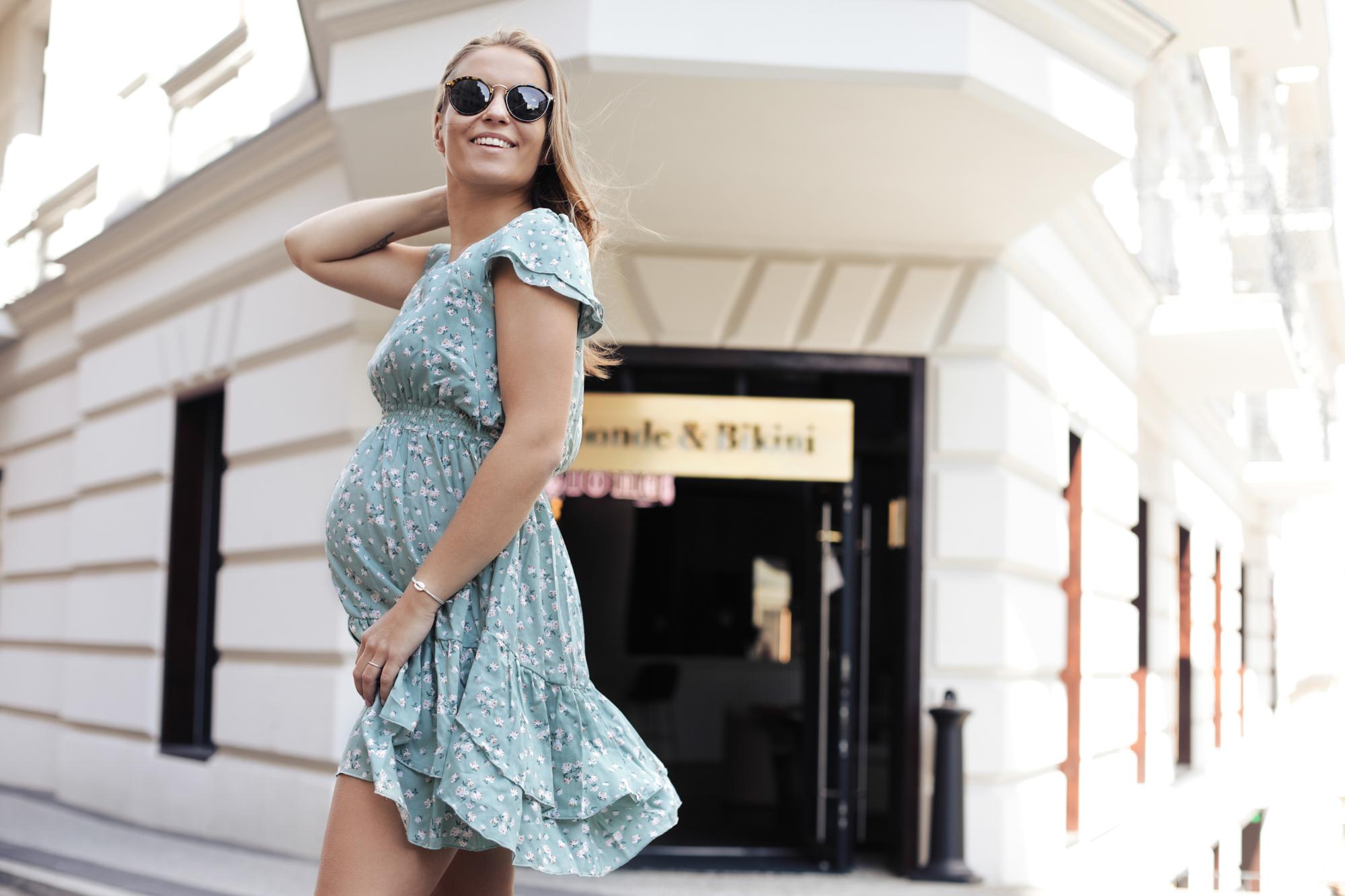 Luźne sukienki ciążowe